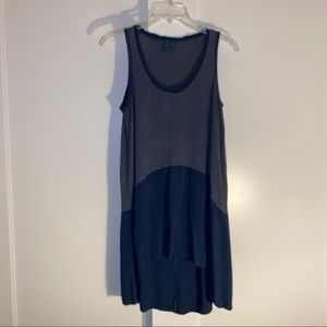 Anthropologie Left of Center Sz XS blue tunic